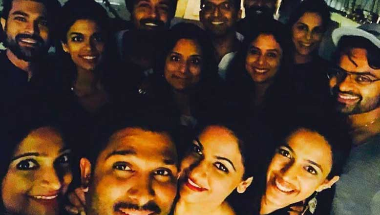 lavish party for Ramcharan