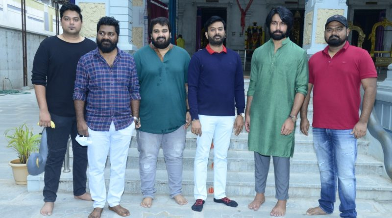 Starring Kalyaan Dhev, SRT Entertainments production No 6 launched with a formal pooja ceremony